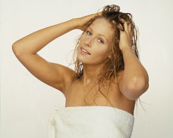 No shampoo can make your hair thicker