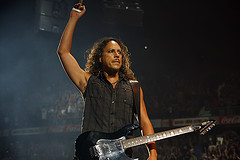 Hands Up If You Use a Hair Loss Treatment. Metallica's Kirk Hammett Does & He's Rightly Proud of the Results.
