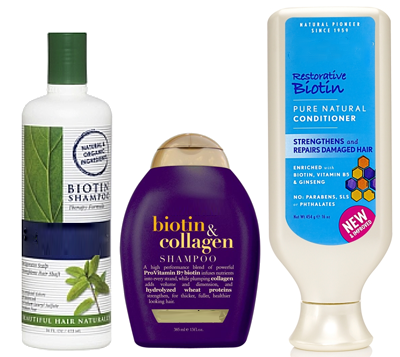 Biotin Shampoos and Conditioners
