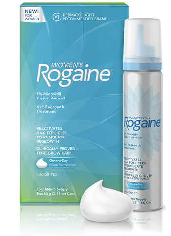 Women's Rogaine Once Per Day Foam