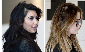 Kim and Khloe Kardashian have both suffered from hair loss thought to be from Traction Alopecia caused by hair extensions