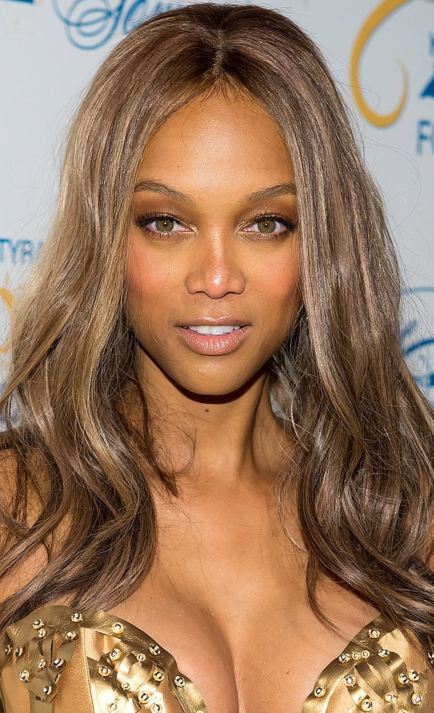 Model and Businesswoman Tyra Banks has often spoken about her naturally high forehead