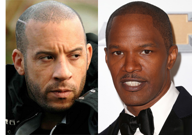 Vin Diesel and Jamie Foxx Have the Most Requested Hairlines for Scalp Tattoos