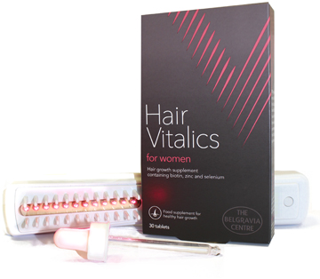 The Belgravia Centre london clinic Womens hairloss treatment
