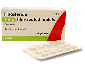 Milpharm Finasteride 1mg Male Pattern Hair Loss Treatment