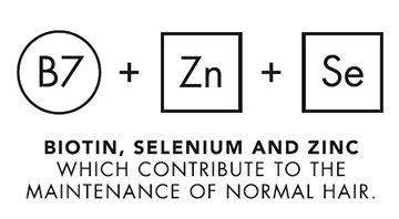 Biotin zinc and selenium contribute to the maintenance of normal hair