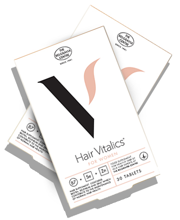 Hair Vitalics for Women - hair supplement from The Belgravia Centre hair growth specialists London hair loss clinic