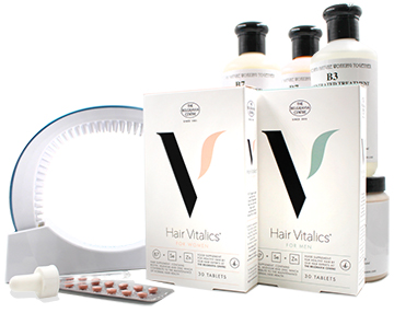 Blog size Belgravia Centre Male and Female Women's Men's Hair Loss Treatment Products Hair Vitalics LaserBand Hairloss clinic